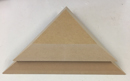GR Pottery Forms - Corner Triangle - 8""