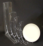 Plate Holder -  PL8 - Clear Acrylic