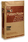 Plaster,  Pottery USG #1 - 50 lb. bag