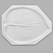 Mayco  Slump & Hump Mold - CD-850 - Large Hosta Leaf