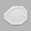 Mayco  Slump & Hump Mold - CD-851 - Small Hosta Leaf
