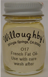 French Fat Oil - 1/2 fluid oz.