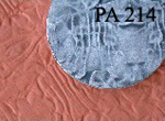 Chinese  Art Clay Texture Mat - PA 214 - Cloth Wrinkles