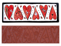 Mayco Designer Stamp - ST-105 - Dancing Heart