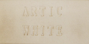 Aardvark Clay's  Artic White - 25 lbs.